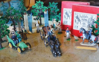 Soldats et figurines de plomb racontent l'Histoire.