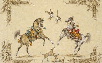 Marine Oussedik's horses, 30 years of creation
